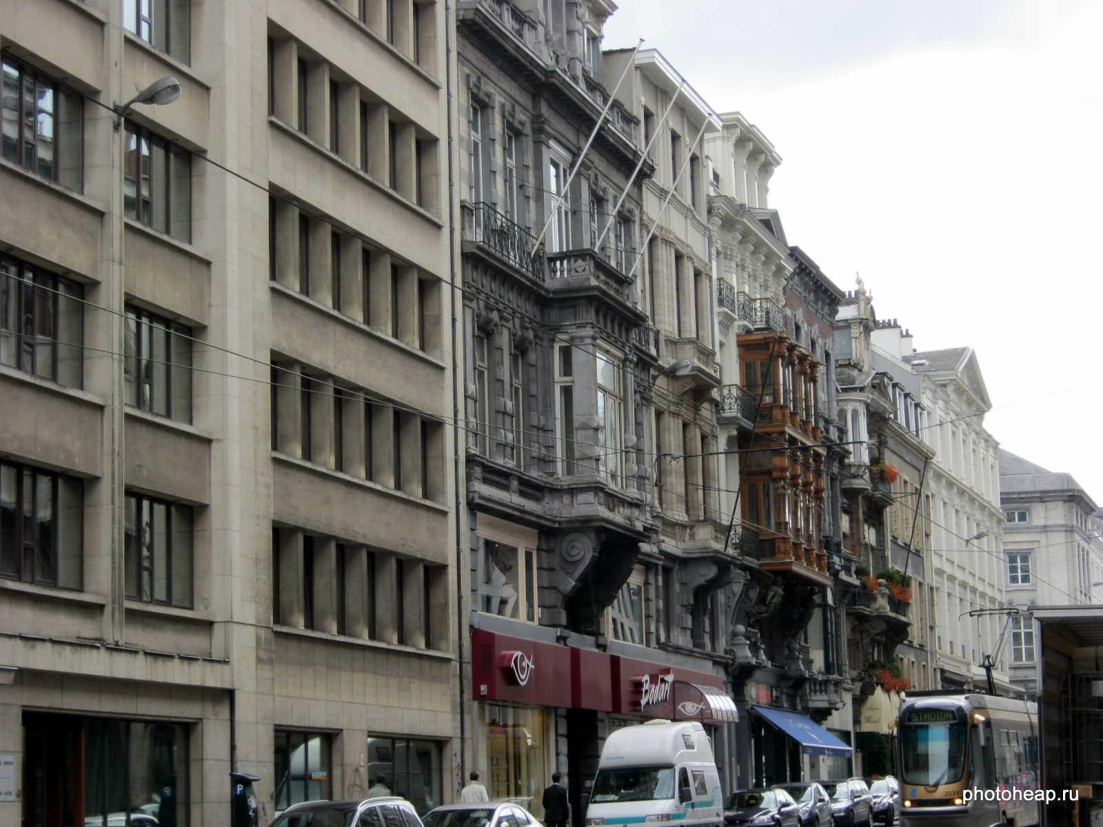 Brussels - balconies