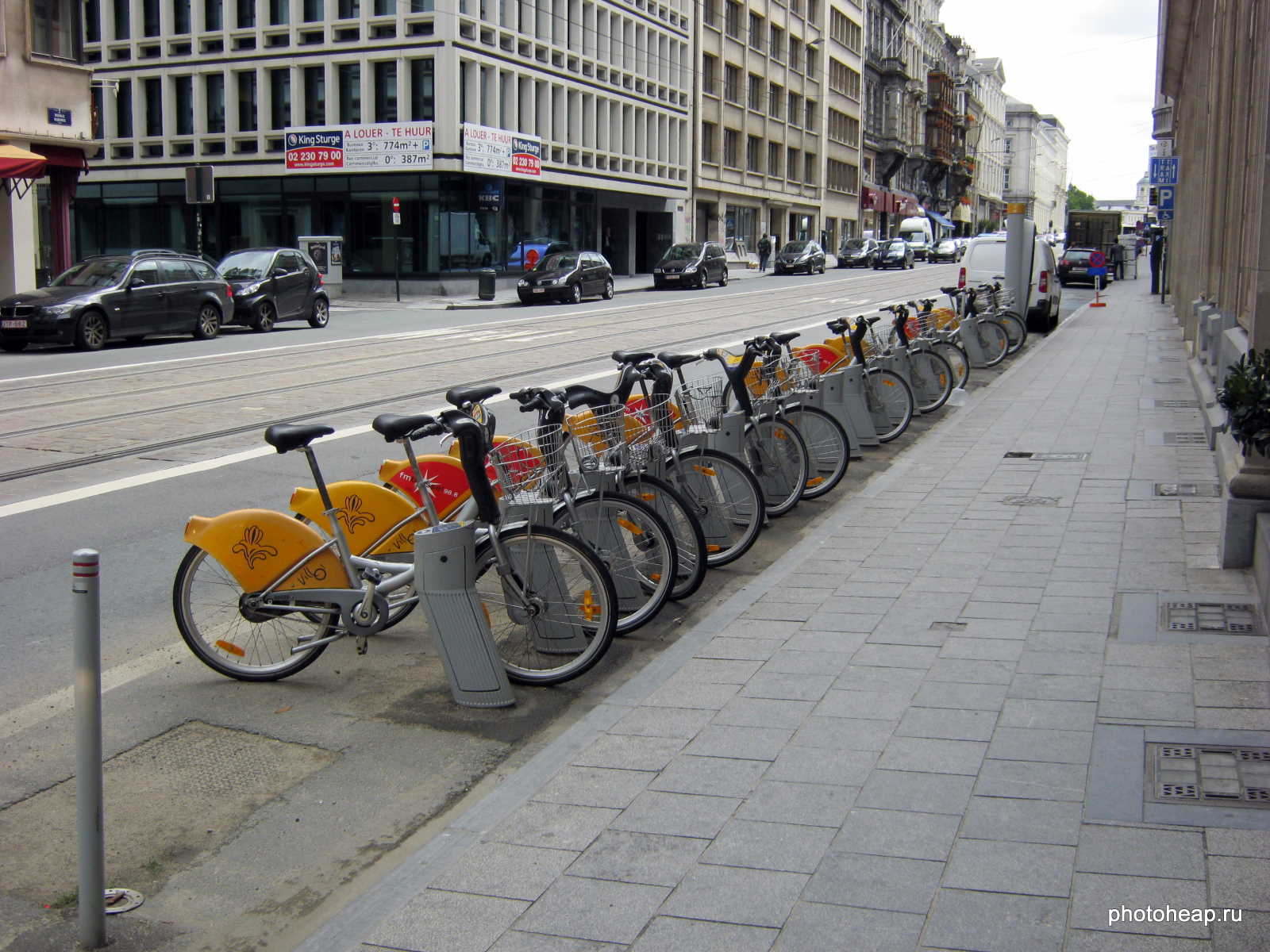 Brussels - bike parking