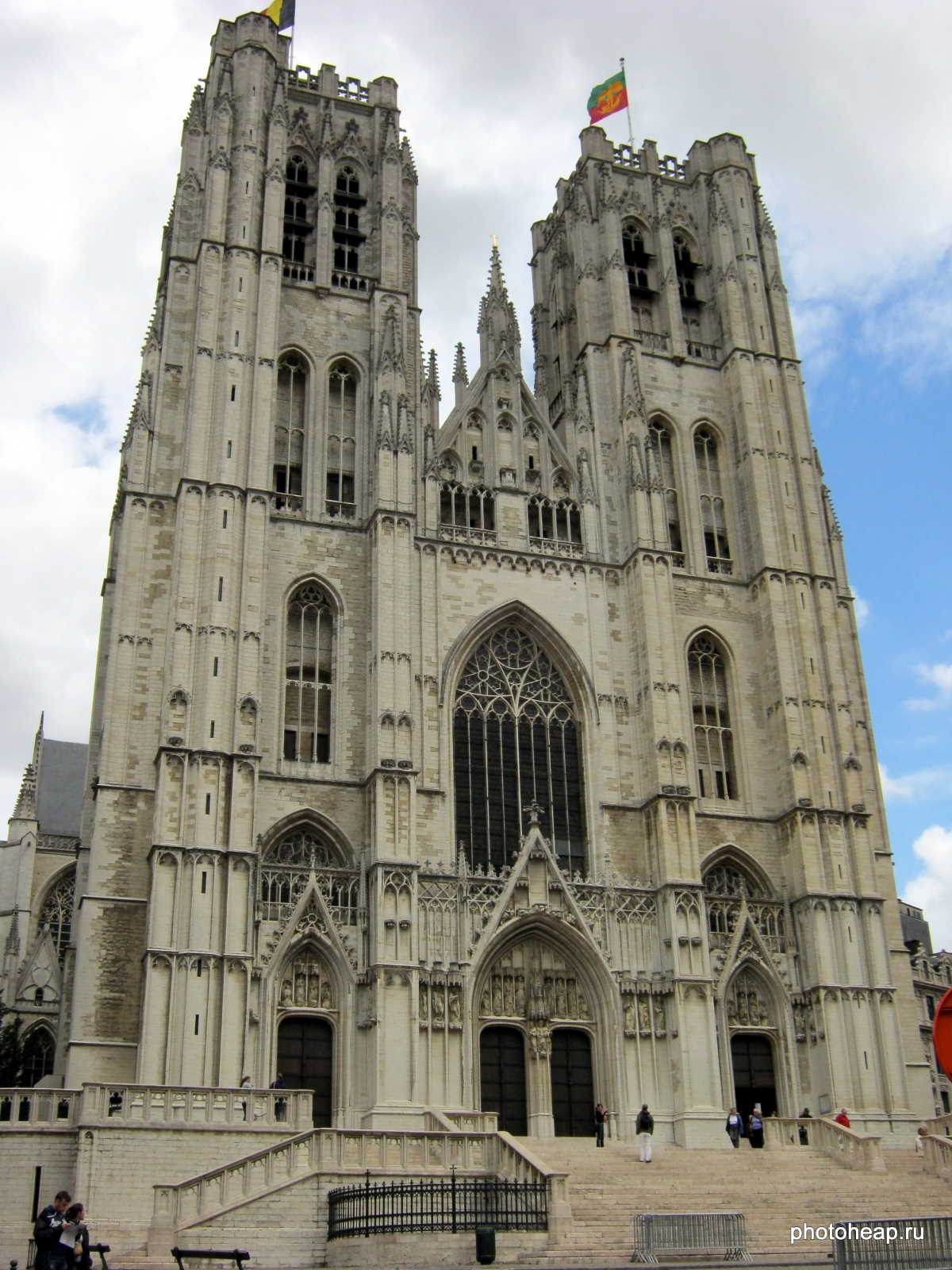 Brussels - Cathedral of St Michael
