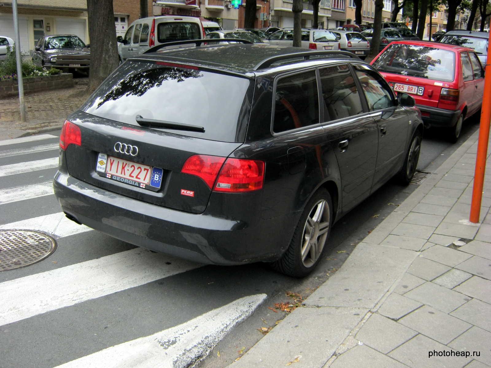 Brussels - Georgia license plate
