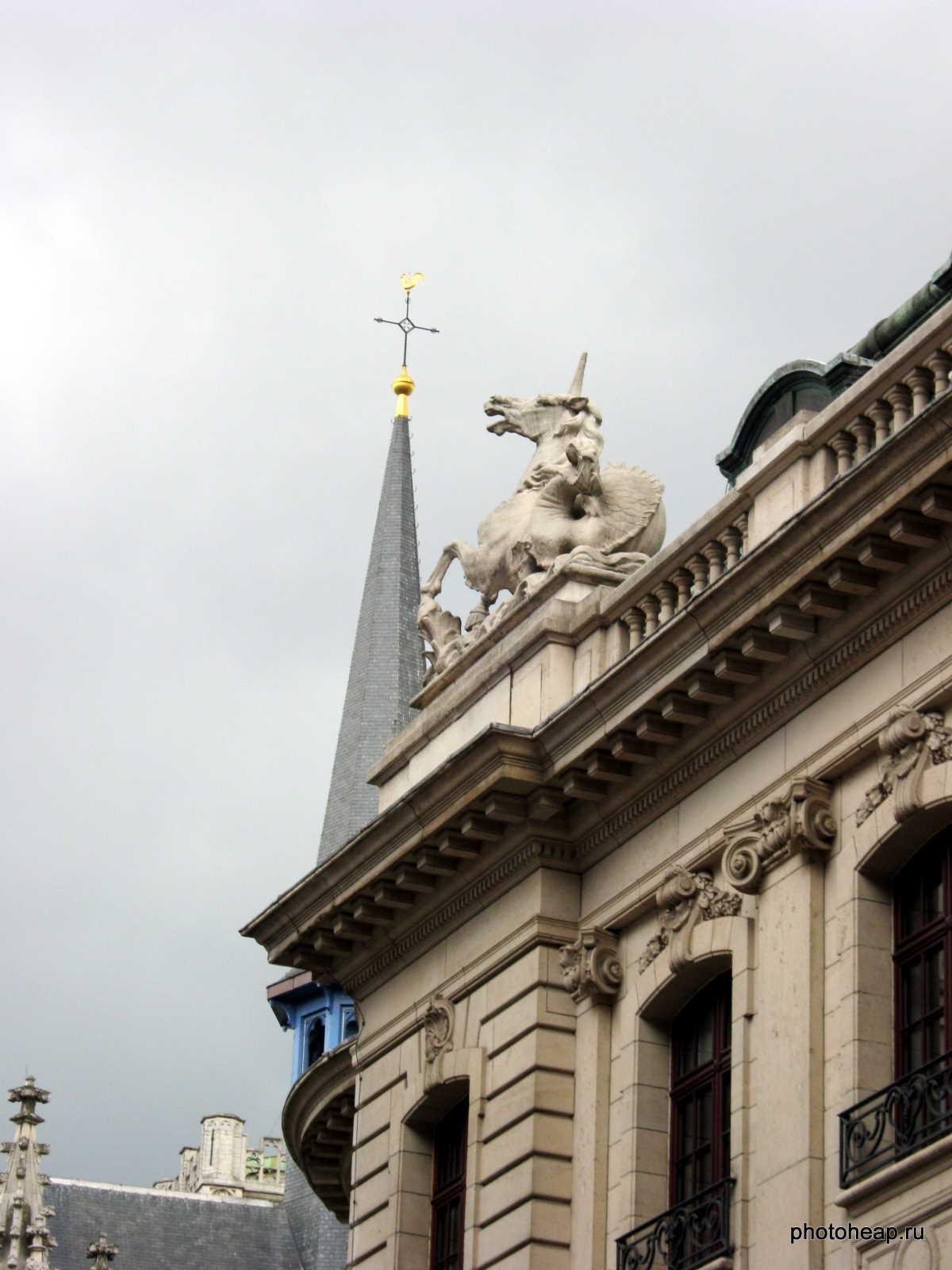 Brussels - unicorn