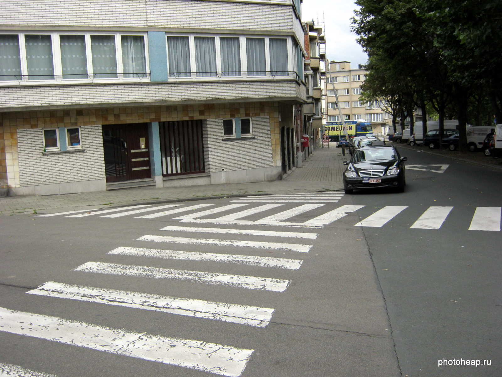 Brussels - Zebra crossing