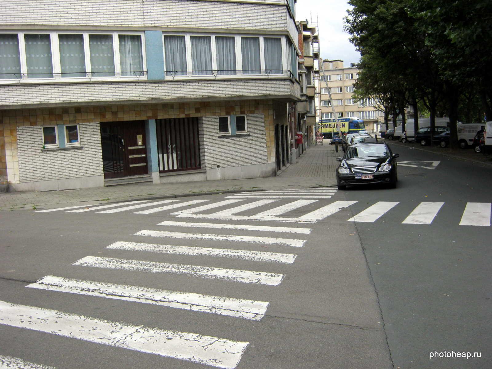 Brussels - Zebra crossing