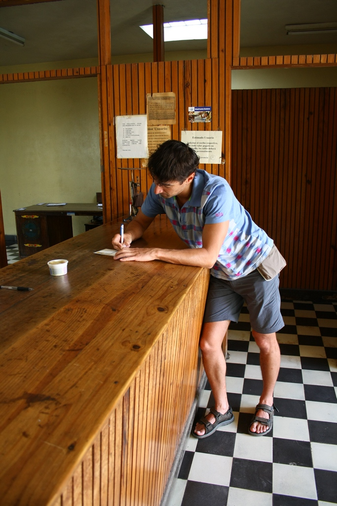 Post office in Copan, Honduras