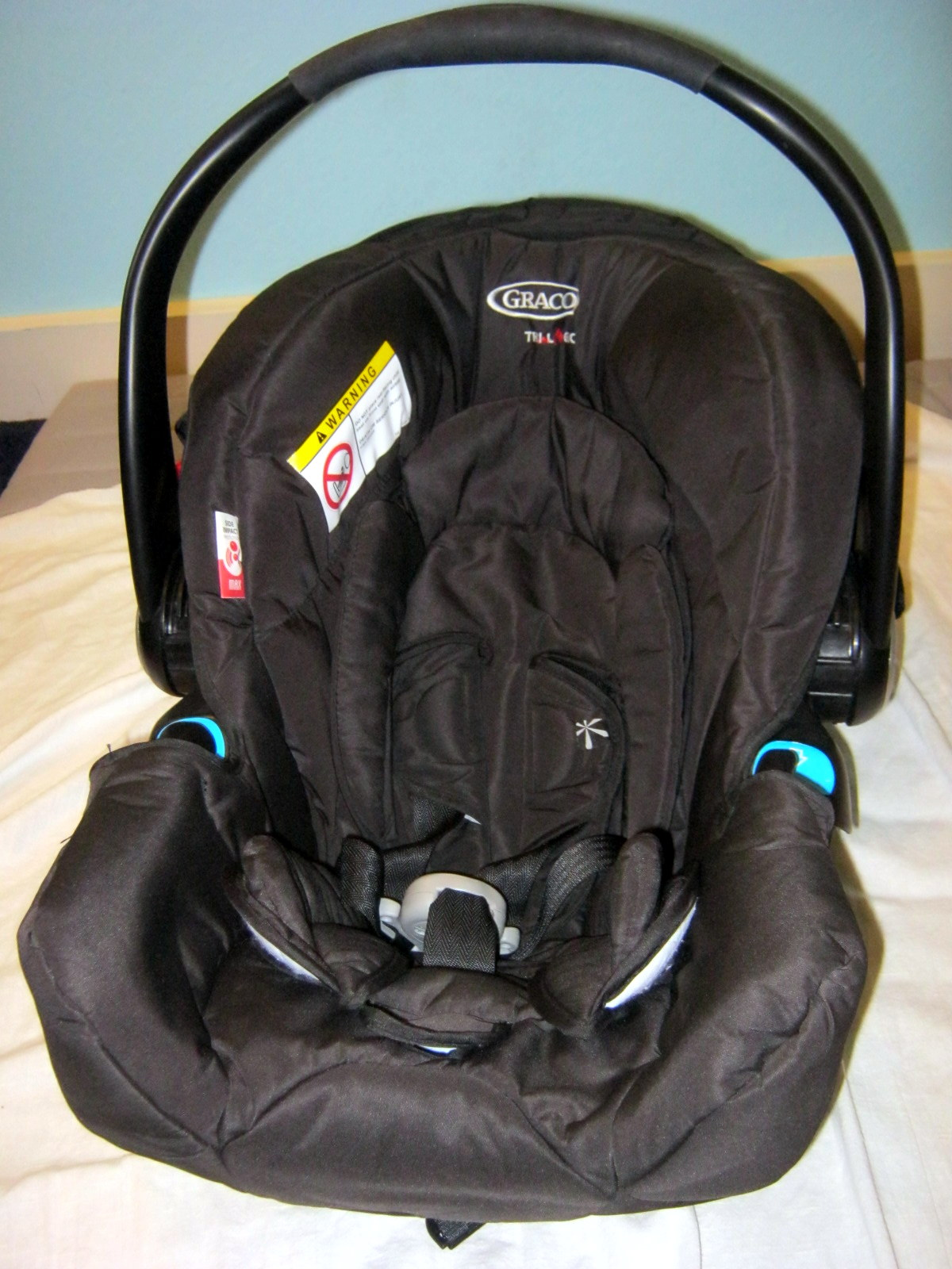Graco car seat - front
