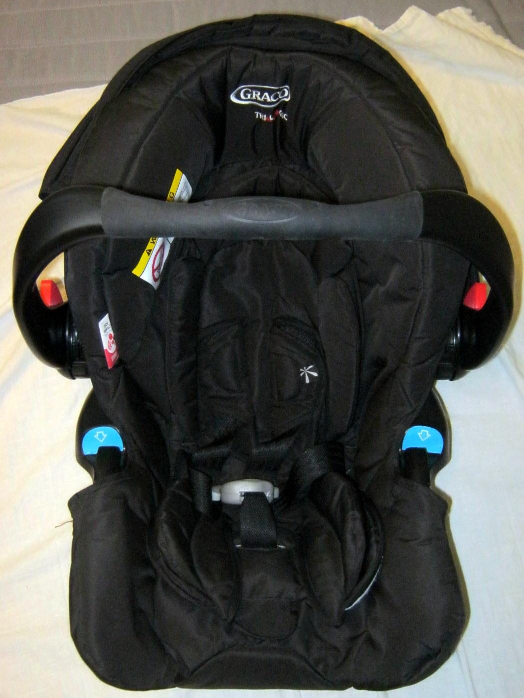 Graco car seat - top