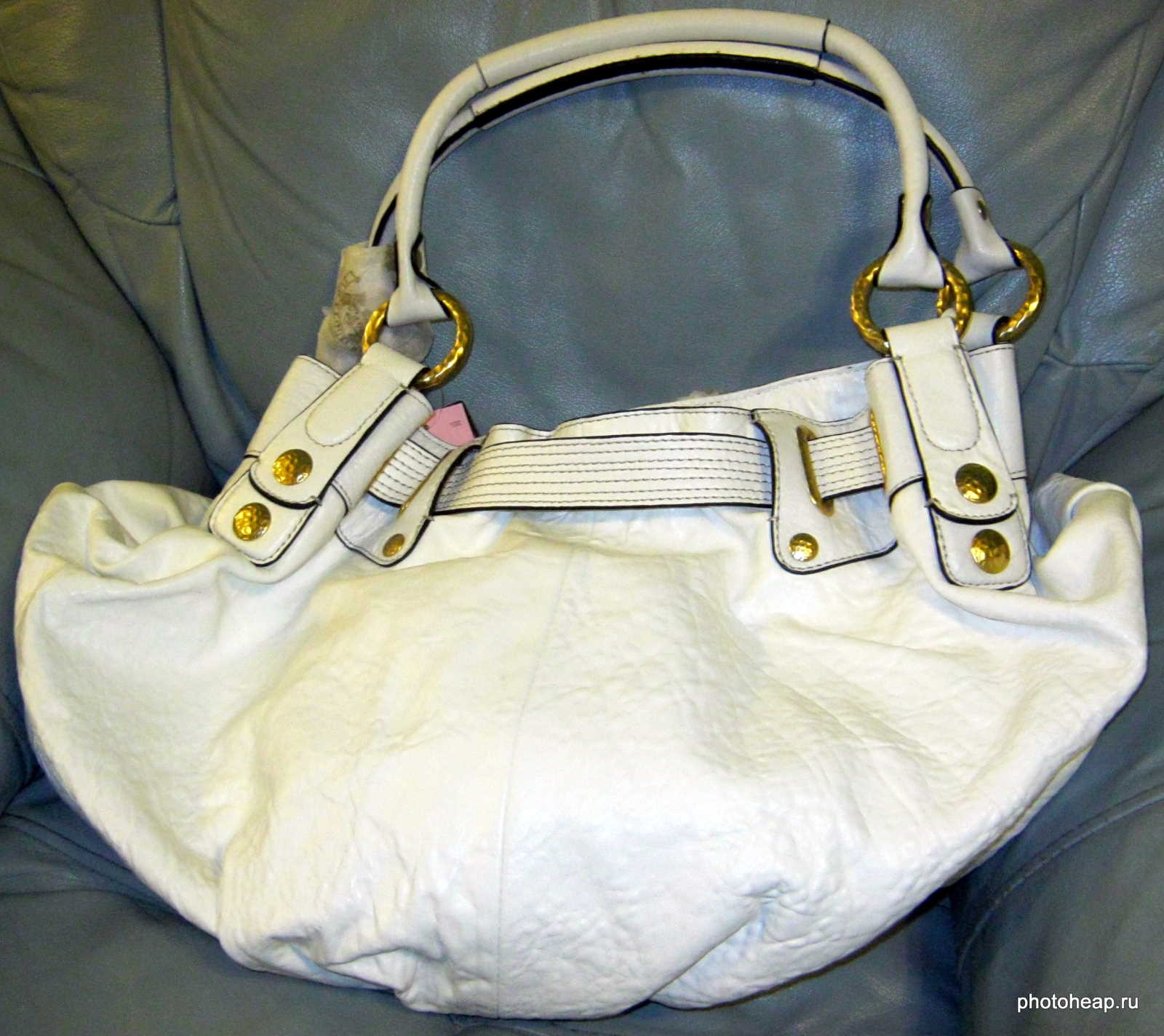Juicy Couture bag in armchair