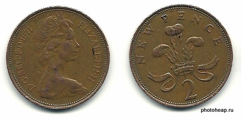 Two Pence - New Pence 1971