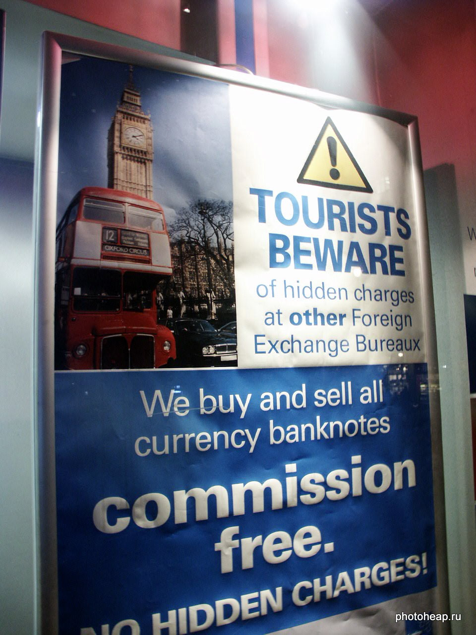 Tourists beware of hidden charges at other Foreign Exchange Bureaux