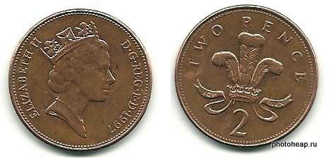 Two Pence - 1997